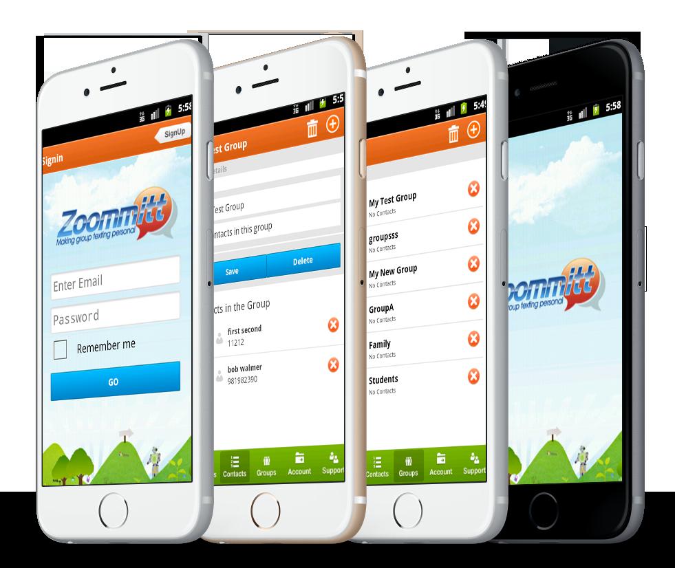 Zoommitt Mobile App